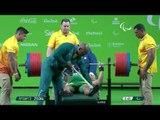 Powerlifting | DA SILVA Evanio Brazil | Men's -88kg | Rio 2016 Paralympic Games