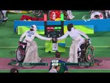 Wheelchair Fencing| DELUCA v HALKINA| Women's Individual EPEE A | Rio 2016 Paralympic Games
