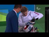 Wheelchair Fencing  COLLIS v XUFENG  Women's Individual Epee A   Rio 2016 Paralympic Games