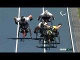 Athletics   Men's 800m - T34 Round 1 Heat 1   Rio 2016 Paralympic Games