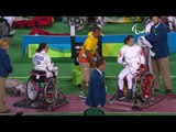 Wheelchair Fencing| DELUCA v XUFENG| Women's Individual Epee A | Rio 2016 Paralympic Games