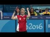 Table Tennis | Croatia v Germany | Women's Singles Final Class 6 | Rio 2016 Paralympic Games