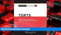 FAVORIT BOOK Casenote Legal Briefs: Torts, Keyed to Goldberg, Sebok,   Ziprusky, Third Edition