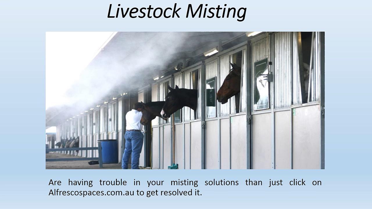 Livestock Misting