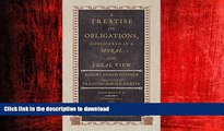 FAVORIT BOOK A Treatise on Obligations, Considered in a Moral and Legal View. Translated from the