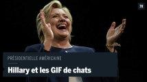 Clinton : Trump lui donne envie de «regarder des GIF de chats»
