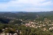 Panorama Cévennes - Saint Jean du Pin /  Depuis Saint Germain de Montaigu / Relais antennes Télévision (360m)