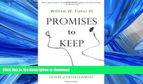 FAVORIT BOOK Promises to Keep: Technology, Law, and the Future of Entertainment (Stanford Law
