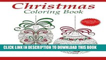 [PDF] Christmas Coloring Book: A Holiday Coloring Book for Adults (Adult Coloring Books) (Volume