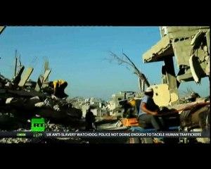 A GAZA pendant et après le déluge de feu israélien