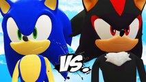 SONIC VS SHADOW - SONIC THE HEDGEHOG VS SHADOW (SONIC BOOM)