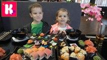 Япона ЧЕЛЛЕНДЖ у Кати и Макса острые и вкусные японские пряности Конфеты Kit Kat для прожарки Супер острый Суп видео
