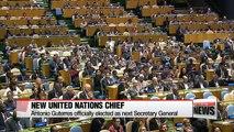 Antonio Guterres elected as new UN chief