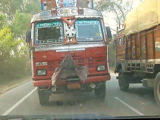 Truck Stunt - Only happens in India