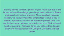How to Connect a Printer to a D-Link Router