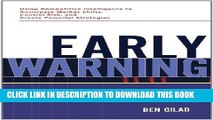 PDF Early Warning: Using Competitive Intelligence to