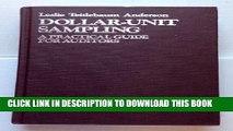 [PDF] Dollar-unit sampling: A practical guide for auditors Popular Colection