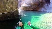 Adrénaline - Canyoning : Du canyoning en caméra embarquée à La Réunion