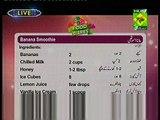 Banana Smoothie Recipe by Chef Zarnak Sidhwa