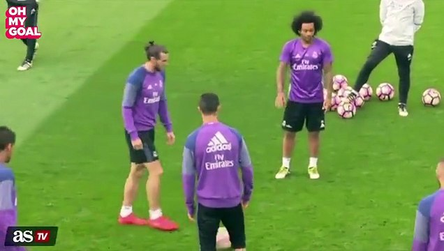 Cristiano Ronaldo Goes Insane After Being Nutmegged
