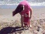 Axel 6 mois 1/2 a la plage