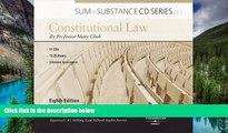 READ FULL  Cheh s Sum and Substance Audio Constitutional Law, 8th (CD)  Premium PDF Full Ebook