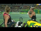 Wheelchair Tennis | NED v GBR | Women's doubles Semifinals | Rio 2016 Paralympic Games