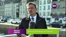 Une nouvelle passerelle à Cherbourg en Cotentin