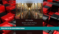 EBOOK ONLINE  Water Law and Policy Governance Without Frontiers READ ONLINE