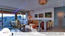 A louer - Appartement - Villeneuve loubet (06270) - 3 pièces - 70m²