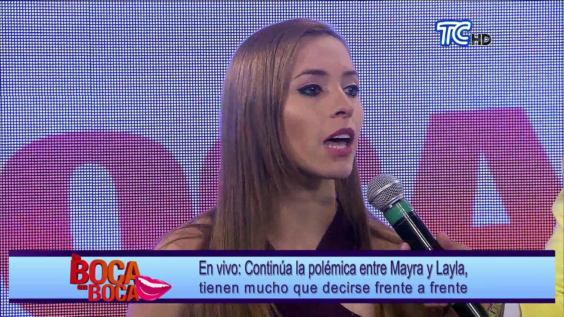 Layla Torres habla sobre su rivalidad con Mayra en de Boca en Boca
