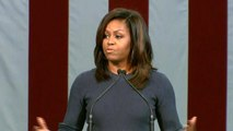 Michelle Obama, Donald Trump deliver dueling speeches