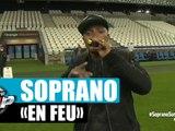 """Soprano """"En Feu"""" en live du Orange Vélodrome pour Planète Rap !"""