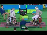Wheelchair Fencing | Men's Individual Sabre Cat A | CHEONG v TIAN | Rio 2016 Paralympic Games HD