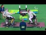 Wheelchair Fencing | Men's Individual SabreCat A | DEMCHUK v LEMOINE | Rio 2016 Paralympic Games HD