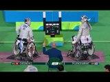 Wheelchair Fencing | Men's Individual Sabre Cat A | CHEONG v PYLARINOS | Rio 2016 Paralympic Games