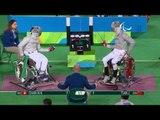 Wheelchair Fencing | Men's Individual Sabre - Cat A | CHAN v TIAN | Rio 2016 Paralympic Games HD