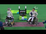 Wheelchair Fencing| OSVATH v DEMCHUK| Men's Individual Sabre A gold | Rio 2016 Paralympic Games