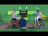 Wheelchair Fencing|NTOUNIS v TIAN| Men's Individual Sabre A Bronze | Rio 2016 Paralympic Games