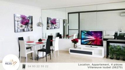 A louer - Appartement - Villeneuve loubet (06270) - 4 pièces - 91m²