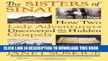 [PDF] The Sisters of Sinai: How Two Lady Adventurers Discovered the Hidden Gospels Full Colection