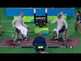 Wheelchair Fencing | Men's Individual Sabre - Cat A | CHAN v LEMOINE | Rio 2016 Paralympic Games HD