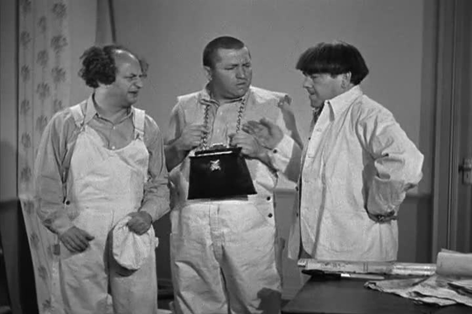 Image result for The Three Stooges From Nurse To Worse