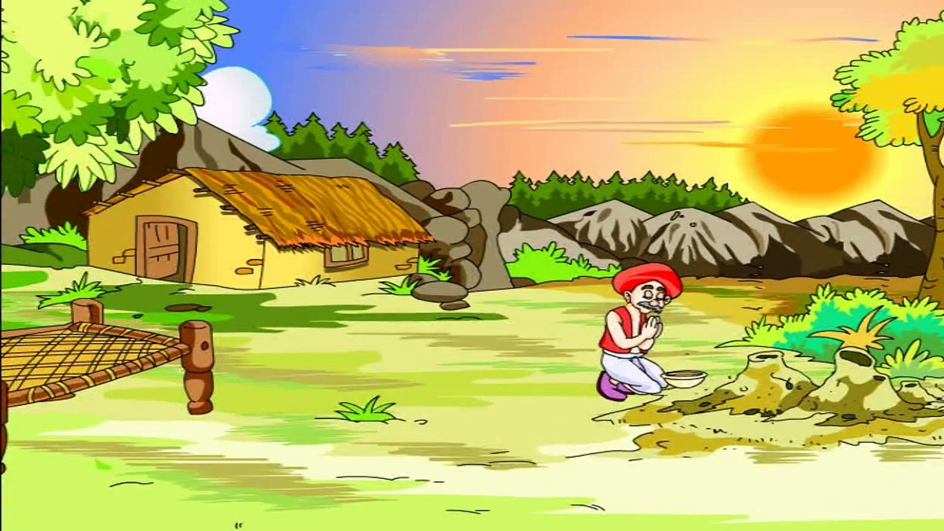 The Farmer And The Snake ## Moral Story In English - Kids Education