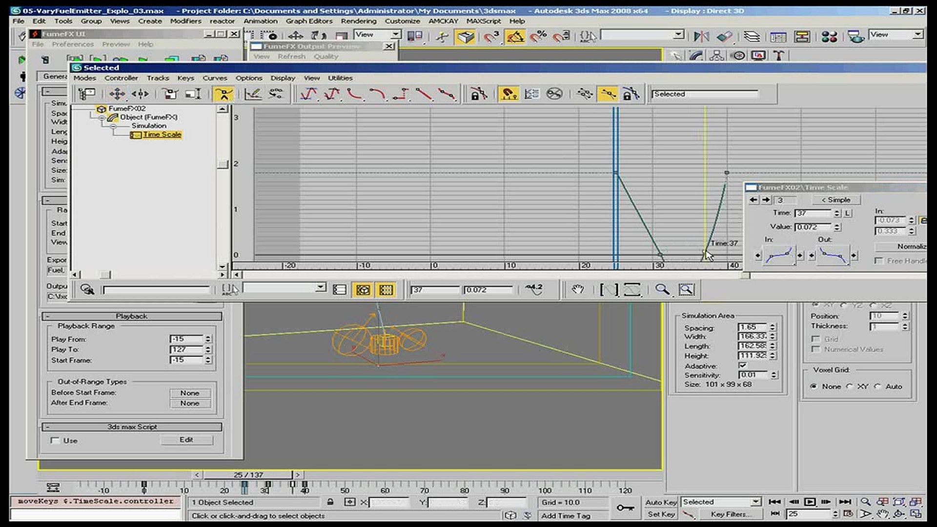 TimeScale Introduction to FFX in 3ds Max