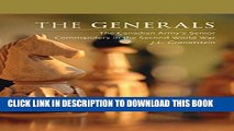 [PDF] The Generals: The Canadian Army s Senior Commanders in the Second World War (Beyond