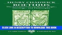 [PDF] Boethius: The Consolations of Music, Logic, Theology, and Philosophy (Clarendon Paperbacks)