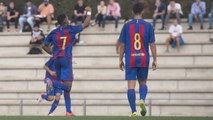 [HIGHLIGHTS] FUTBOL (Juvenil ): FC Barcelona – San Francisco (1-0)