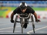 Athletics   Men's 100m - T34  Round 1 Heat 2   Rio 2016 Paralympic Games