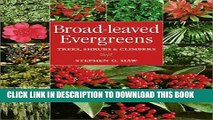 [PDF] Broad-Leaved Evergreens: Trees, Shrubs   Climbers Popular Online